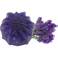 Soulflower Lavender Pure Glycerin 100% Veg Soap