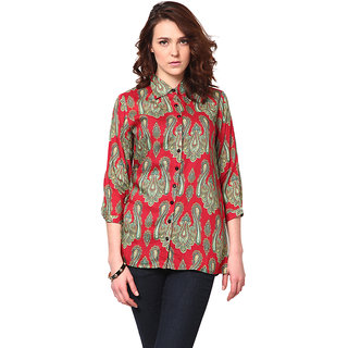 LOVE FROM INDIA - VINTAGE PAISLEY PRINTED SHIRT