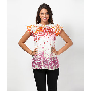 LOVE FROM INDIA  PRINTED SHORT TUNIC _buy One Tunic Get One Scraf Free - 5173790