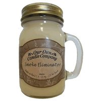 13oz SMOKE ELIMINATOR Scented Jar Candle (Our Own Candle Company Brand)