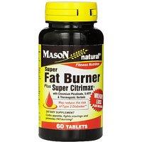 Mason Natural Super Fat Burner Plus Super Citrimax With Chromium Picolinate