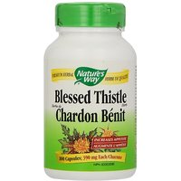 Nature's Way Blessed Thistle Herb (COG), 100 Capsules (Pack Of 2)