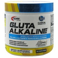 BPI Sports Gluta Alkaline Herbal Mineral Supplement, Unflavored, 3.53 Ounce