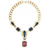 Paisley Bay Multi- Colour Modern Alloy Party Wear Long Necklace