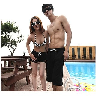 Beach Short Pant For Women In With Different Size M L Xl In Black Color...