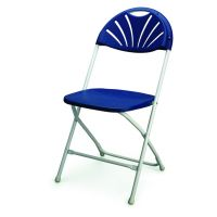 Nilkamal Fusion Folding Chair Blue White