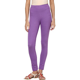 Softwear Denim Lilac Fake Pocket Jeggings
