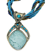 Young & Forever Handmade Antique Bohemian Rhombus Necklace For Women