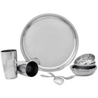 Stainless Steel 24 Pieces Dinner Set