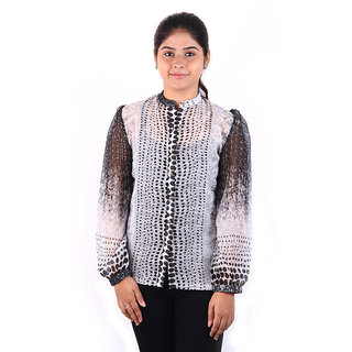 Younky Women's Printed Party Shirt
