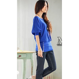 Sexy Trendy Off Shoulder Women T-Shirt Top Blouse Comfortable Cotton Material