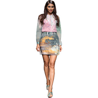 Love From India - Cherry Blossom Shirt With Sequin Inner