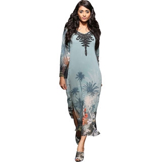 Love From India - Embroidered Summer Designed Kurti With Sequin Inner
