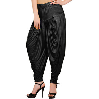Softwear Black Dhoti Pant (free Size)