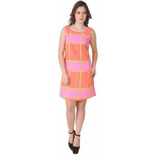 NOD Ema Neon Pink Crayola Dress