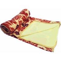 JK Handloom Antipiling Fleece Double Ply Blanket Double Bed (Ty)