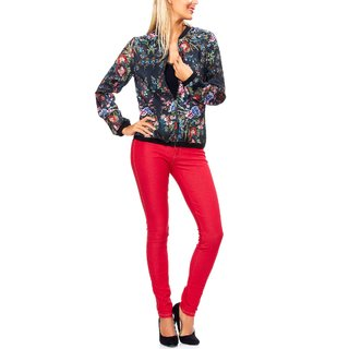 Lightweight Floral Printed Japanese Style Jacket