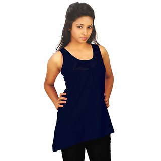 Western Top Gia Navy Blue For Women