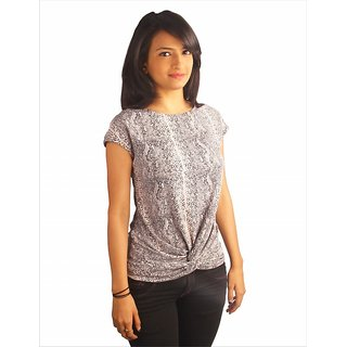 Western Top Melissa Snake Printed For Women