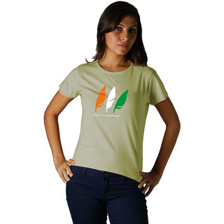 Regular Tees Feathers (Birth Right) (TW) Tidal Foam For Women