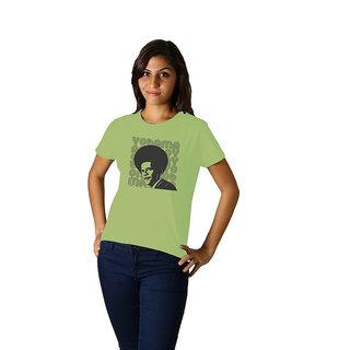 Regular Tees Yobama (TW) Moss Green For Women