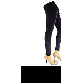 Hap Black Velvet Legging