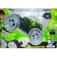 Ben 10 Remote Control Car (Radio Control) - Powerful Racing Game - Music  Light [CLONE]
