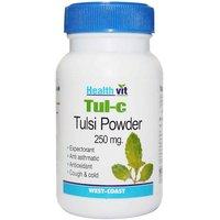 Buy 1 Get 1 Free HealthVit TUL-C Tulsi Powder 250 Mg 60 Capsules (Pack Of 2)