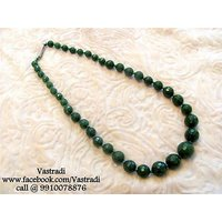 Firstloot Sober Bead Necklace Set In Green Colour - BD131