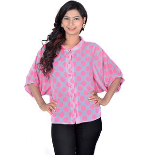 Vivaa Stylish Printed Ladies Shirt VGS-02