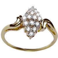 Azira Jewels Pear Shaped Diamond Ring