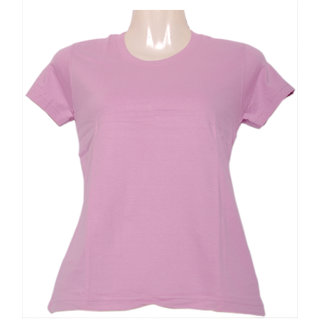 Fruit Of The Loom Ladies Crew Tee Tshirt LCRWOCZ_Pink