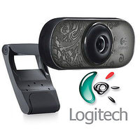 Logitech WebCam C 210 C210 Video Call Mic Web Cam Chat