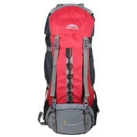 Mount Track Mountaineer 9108 Rucksack, Hiking Backpack 90 Ltrs 34 Inches Red