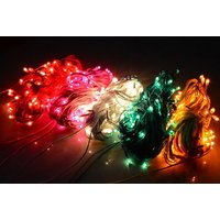 Set Of 50 Rice Lights Serial Bulbs Decoration Lighting For Christmas