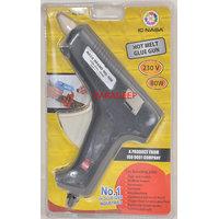 Combo Offer - Glue Gun 80W + 10 Pcs Glue Gun Sticks Hot Melt