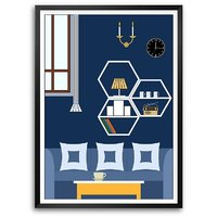 Home Art Decor Gift For Mom New Home Framed Poster