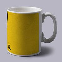 Bruce Lee Yellow Coffee Mug