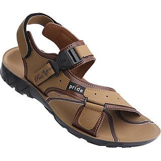 VKC Pride Men Sandal Slipper Flipflop Floater 3017 Tan