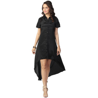 Love From India - Black Dress For Women