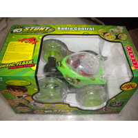 STUNT CAR BEN 10 REMOTE CONTROL RECHARGABLE LIGHT MUSIC TOY GIFT TOYS