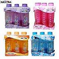 Nayasa Bottle 6 Pc Bottle Multi Colors