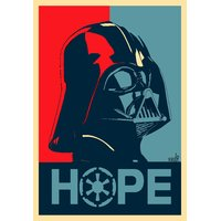 Darth Vader Is Hope Star Wars Poster 12x18 (A3 Size)