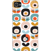 DailyObjects Retro Blossom Case For IPhone 4/4S