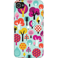 DailyObjects Retro Tree Case For IPhone 4/4S