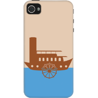 DailyObjects Retro Boat Case For IPhone 4/4S