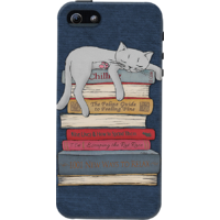 DailyObjects How To Chill Like A Cat Case For IPhone 5/5S