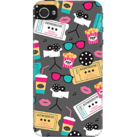 DailyObjects Retro Movies Case For IPhone 4/4S