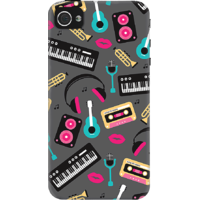 DailyObjects Retro Music Case For IPhone 4/4S