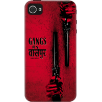 Dailyobjects Gangs Of Wasseypur Red Case For Iphone 4/4S Red